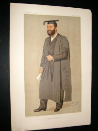 Vanity Fair Print 1892 Thomas Herbert Warren, Teacher